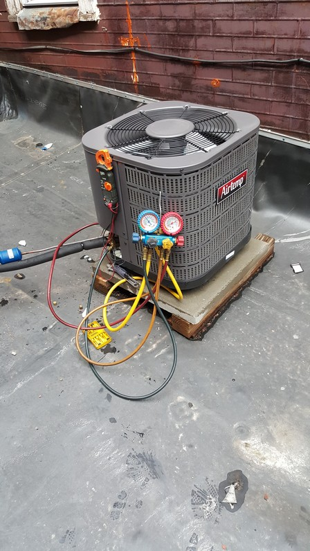 New Air Temp Condenser Installation Project In Troy Ny